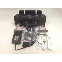 Dok Cr18 3 Port Smart Phone Charger With Speaker And Alarm Clock - Black