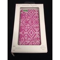 Nanette Lepore IPhone 6 plus case - Pink and White quilt