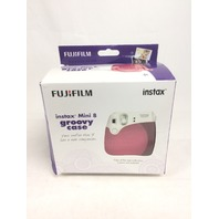 Fujifilm Instax Groovy Camera Case - Raspberry