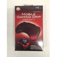 CTA Digital Mobile Gaming Grip for iPhone 5 - Red