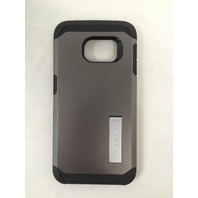 Spigen Tough Armor Galaxy S6 Edge Case, Extreme Heavy Duty Protection - Gunmetal