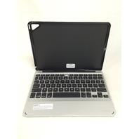 "ZAGG Slim Book Case, Hinged Detachable Backlit Keyboard for iPad Pro 9.7"" Black"