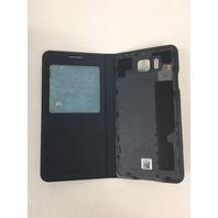 Galaxy Alpha S-View Cover Original Samsung Folio Case EF-CG850B Black