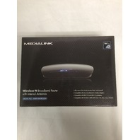 Medialink - Wireless N Broadband Router - 300 Mbps - 2.4ghz W/ Internal Antenna