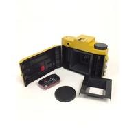 Holga Sunset Blvd  Holgawood Collection Plastic Camera (Mustard)
