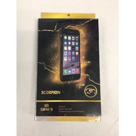 SaharaCase C-A-I6-BK Case with Glass Screen Protector for Apple iPhone 6 and 6s