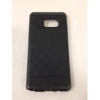 Galaxy Note 7 Case, Caseology Modern Slim Geometric Design [Black] Textured Grip
