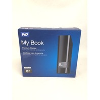 Wd My Book 3tb Usb 3.0 Hard Drive Local And Cloud Backup (WDBFJK0030HBK-NESN)