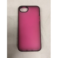 Belkin Grip Candy Sheer Case / Cover For Apple iPhone 5 5s SE (Pink / Black)