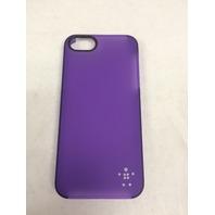 Belkin Shield Sheer Matte For iPhone 5 5s SE - Purple
