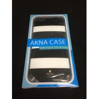 Akna black and white striped case iPhone 6plus