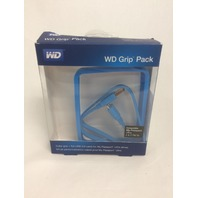 WD Grip Pack for My Passport Ultra 2TB with USB 3.0 Cable, Sky Blue