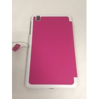 FYY -Samsung tab Pro 8.4 Folio Case with Smart Auto Sleep/Wake Feature Dark Pink