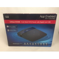 Linksys EA3500 Dual-Band N750 Router with Gigabit and USB, App Enabled