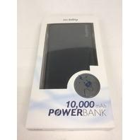 Mobility 10,000 mAh Power Bank (black) w/ Dual USB Output