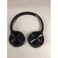 Sony MDR-ZX330BT/B Bluetooth Stereo Headset, Black (MDR-ZX330BT/B)