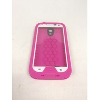 LifeBox for Samsung galaxy S4 - pink and white (no holster)