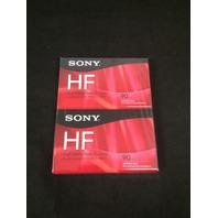 Sony C90HFR/2 90 Minute HF Audio Tape - 2 Pack - SEALED