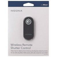 Insignia Remote Wireless Shutter Control (NS-WSCN-C)