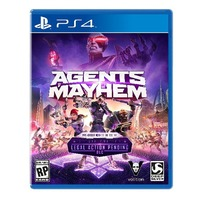 Square Enix Agents Of Mayhem (Day 1 Edition) (PS4) - SEALED