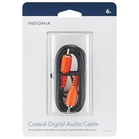 Insignia 1.8m (6 Ft.) Digital Coaxial Audio Cable (ns-hz506-c)