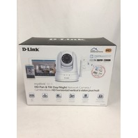 D-Link HD Pan & Tilt Wi-Fi Camera - 720p - Night Vision Remote Access DCS-5030L