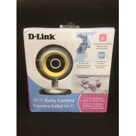 D-Link Wi-Fi Day/Night Baby Monitor with Remote Video & Audio Monitoring