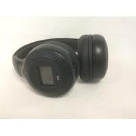 Bluetooth Stereo On Ear Headphones, Wireless, Foldable, Built-in Mic, Black