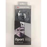 Monster 137092-00 Isport Achieve Headphones Black