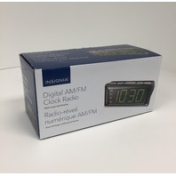 Insignia Digital Am/fm Clock Radio W/ Large Led Display - NSCLOPP2C