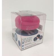 Splash Tunes Shower Speaker – Waterproof Bluetooth Hands-Free (Pink)