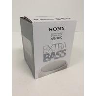 Sony SRS-XB10 Portable Wireless Speaker with Bluetooth, White (2017 model)