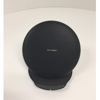 Samsung Leather Fast Charge Wireless Charging Pad With Stand & Travel Adapter