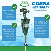 Hoont Cobra Powerful Outdoor Water Jet Blaster Animal Pest Repeller Motion A...