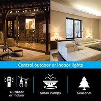 GE MyTouchsmart Indoor/Outdoor Plug-In Digital Timer, 26898
