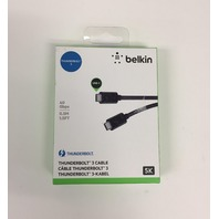 Belkin Thunderbolt 3 Cable 0,5m 40gbit/s 100w Sw F2CD084BT0