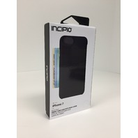 Incipio - Wallet Folio Case For Apple iPhone 7 - Black