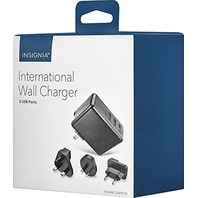 Insignia International Wall Charger NS-MAC3U4NGBL