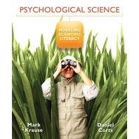 Psychological Science Modeling Scientific Literacy