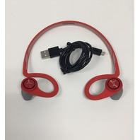 BackBeat FIT Bluetooth Behind Head Stereo Workout, Running, Fitness Headset, Red