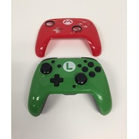 Nintendo Switch Faceoff Wired Pro Controller With 2 Super Mario Faceplates