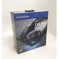 Afterglow - LVL 5 Over-the-ear Gaming Headset For Playstation 4 - Black