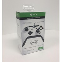 PDP XB1 Wired Controller Gaming Pad - White