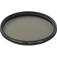 Platinum Series 72mm Circular Polarizer Lens Filter, PTMCCP72, Clear