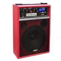 300W Bluetooth Portable PA Speaker Rechargeable Battery, Microphone, FM Radio