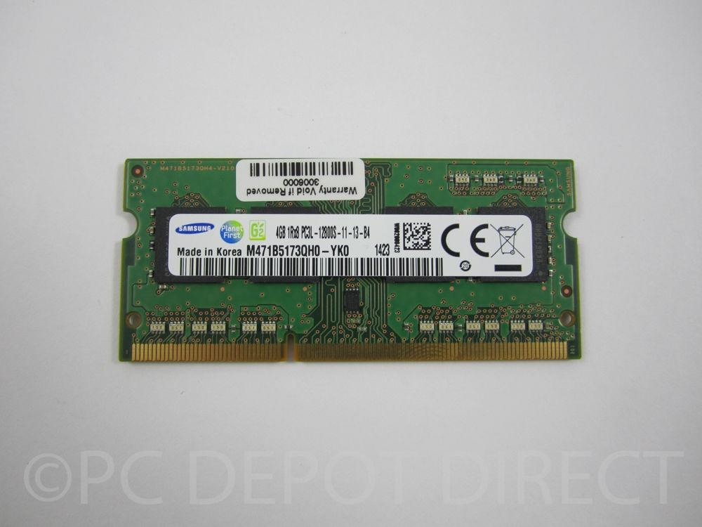 Genuine Lenovo 03X6656 4GB PC3-12800S DDR3-1600 SODIMM RAM Memory