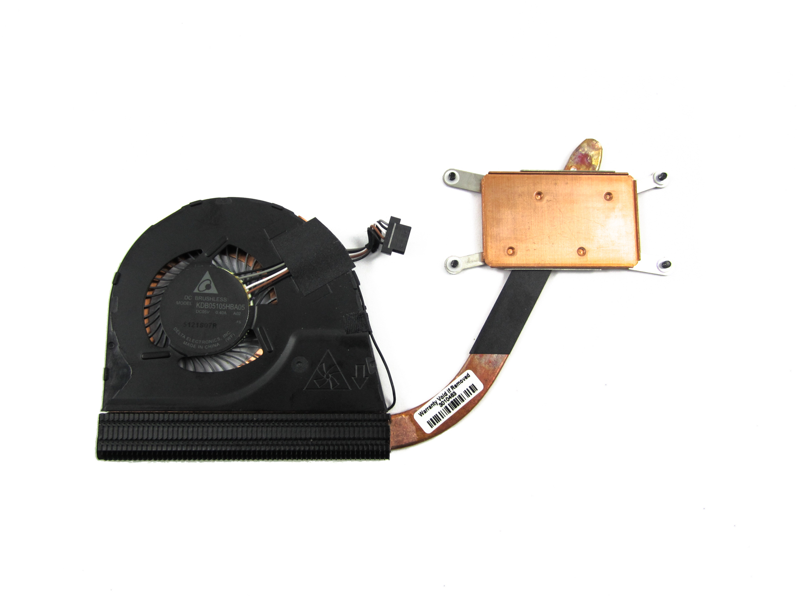 Lenovo Thinkpad Yoga 12 20DL Thermal Assembly Heatsink CPU Fan  00HT722