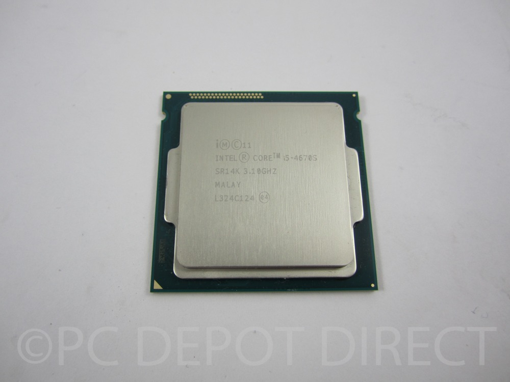 Intel Core i5-4670S SR14K 3.10GHZ LGA 1150/Socket H3 Quad-Core CPU Processor 2-3 day