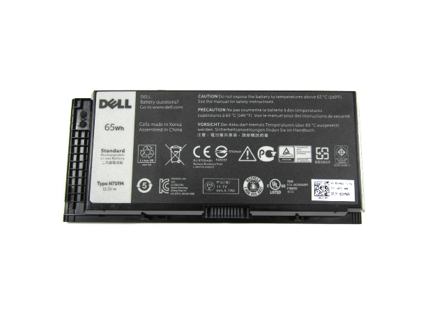 Genuine Dell Precision M4800 65WH 11.1V Battery 0GXMW9