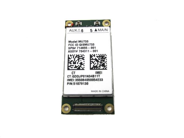 Genuine HP MU733 HSPA WWAN Broadband Card 714655-001